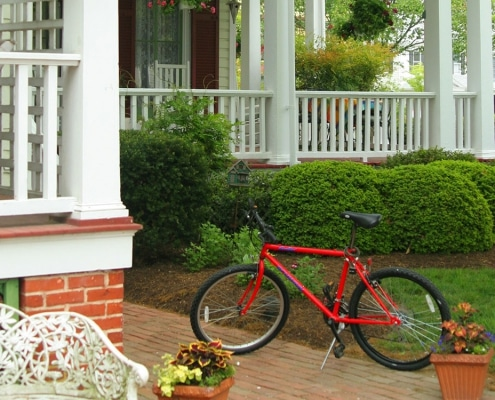 Rent a bicycle to tour Easton Maryland