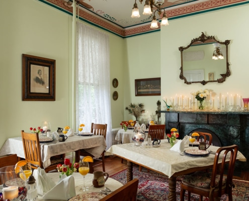 Bishop's House dining area